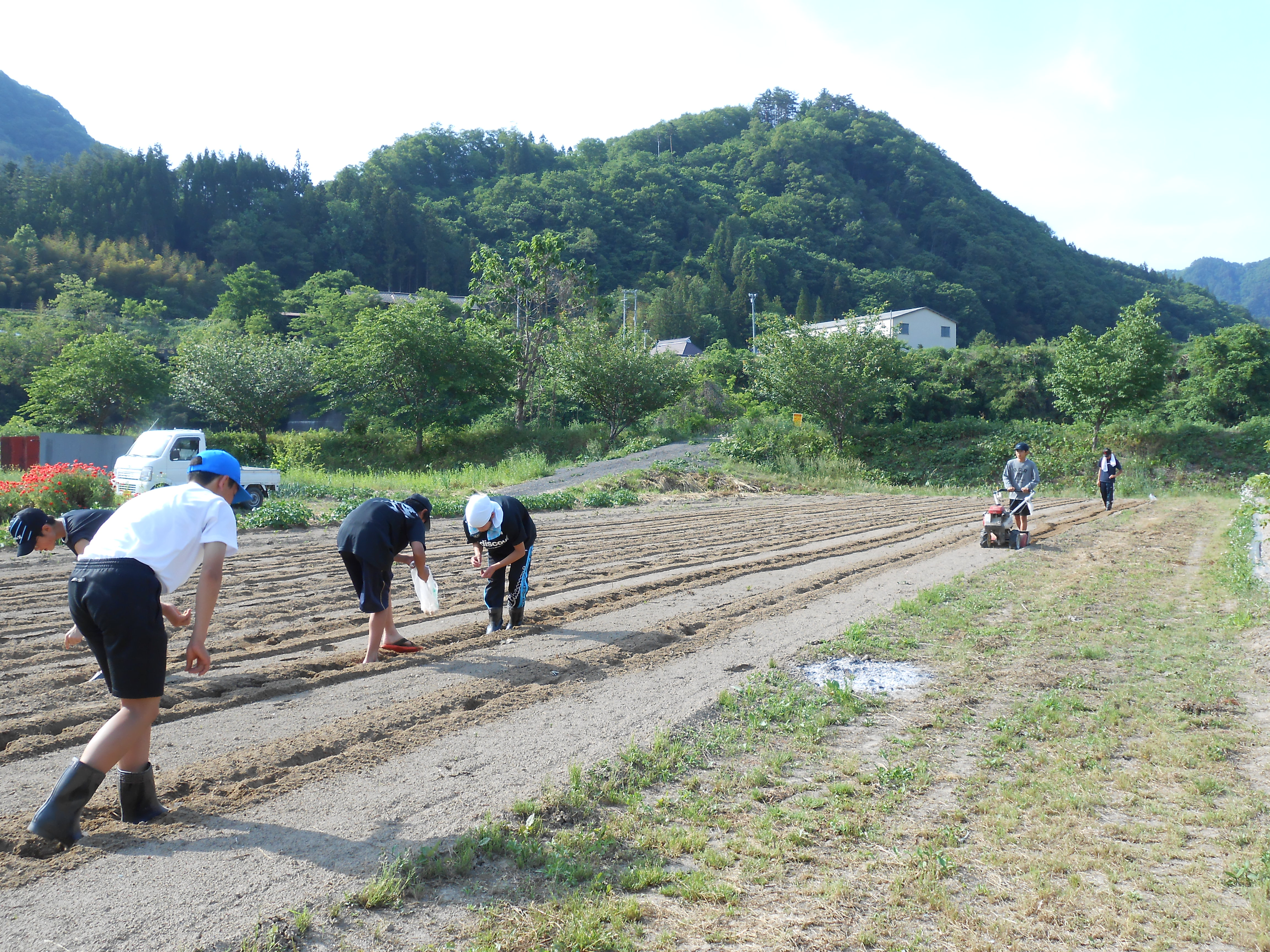 豆まき・定植・山菜採り・春の郷土食体験 ※終了しました