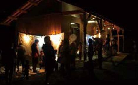 昆虫夜間燈火教室