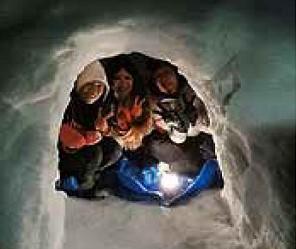 かまくらと雪遊び体験