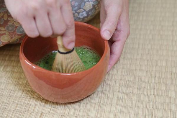 「和のじかん」抹茶体験