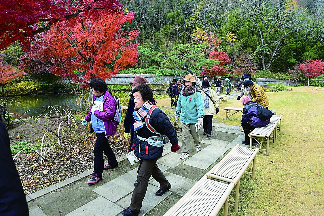泉水路と紅葉めぐり